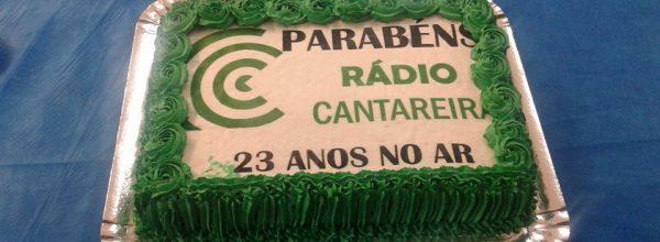 Aniversário de 23 anos da Rádio Cantareira